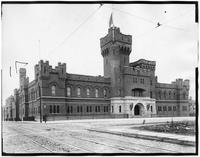 Brooklyn: 14th Regiment Armory (Park Slope Armory), Eighth Avenue between 14th Street and 15th Street, undated.