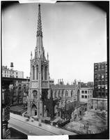 Manhattan: Grace Church, Broadway and 10th Street, undated.