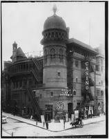 Manhattan: Casino Theatre, southeast corner of Broadway and 39th Street, 1900.