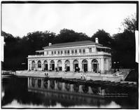 Brooklyn: the Boathouse, Prospect Park, 1909.