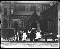Boston, Massachusetts: Emmanuel Church, 15 Newbury Street, July 28, 1909. Funeral of Dr. William R. Huntington.