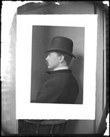 Portrait of James S. Hall, undated.