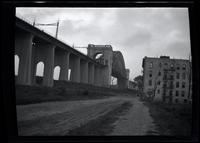 Long Island City: [Hell Gate Bridge (New York Connecting Railroad Bridge), undated.]