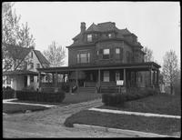 143 Summit Avenue, Hackensack, N.J., undated. Photographed for Joseph P. Day.