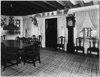 Bayshore, New York: dining room (?), Sagtikos Manor House, undated.