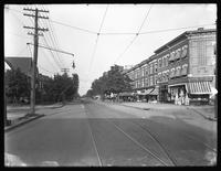 Cortelyou Road at Stratford Road, Ditmas Park, Brooklyn, September 5, 1914. Photographed for the Success Postal Card Company.