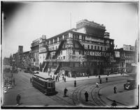 Manhattan: Hammerstein's Roof Garden (Victoria Theatre), Seventh Avenue and 42nd Street, undated [ca. 1908].