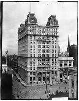 Brooklyn: Temple Bar Building (44 Court Street) and Dime Savings Bank, Court Street and Joralemon Street, undated.