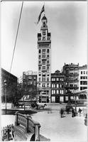 Manhattan: the Decker Building (no. 33), Brentano's, G. Schirmer music publishers, and Sarony, Union Square West, undated.