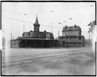 Brooklyn: old Brighton Beach station and Melrose Hotel on Ocean Avenue, undated.