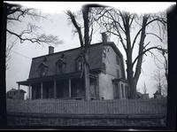 Long Island City: [A.D. Ditmars House, Boulevard and Ditmars Street north of New York Connecting Railroad Bridge {Hell Gate Bridge), Astoria, 1922.]