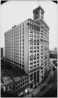 Manhattan: 26 - 44 Broadway (east side), undated [ca. 1905]. Standard Oil Building at #26 - 30; Hudson Building at #32.