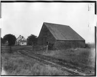 Bronx: unidentified 18th century barn and early 19th century house, undated.