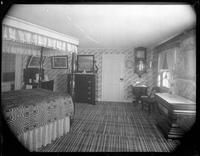Bayshore, New York: interior bedroom, Sagtikos Manor House, [probably 1902].