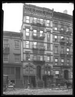 229 W. 18th Street, New York, undated (ca. 1920). Draft horse stands in frame (cart not visible.)