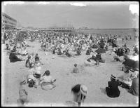 Bathers at Brighton Beach, August 3, 1912.