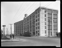 Factory or warehouse, [Karpen Furniture?] on 8th Avenue, Queens, undated (ca. 1920). Photographed for Parkes.