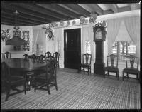 Bayshore, New York: interior dining room, Sagtikos Manor House, [1902].