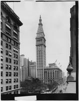 Manhattan: Madison Square, the Metropolitan Life Insurance Tower, and Madison Square Presbyterian Church, undated [ca. 1910].