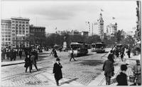 Manhattan: Union Square at 14th Street, undated. View from the southeast.