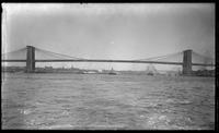 Brooklyn Bridge and the East River, 1903.