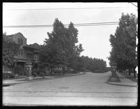 Buckingham Road from Church Avenue, Ditmas Park / Prospect Park South, Brooklyn, September 5, 1914. Photographed for the Success Postal Card Company.