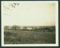 Coxsackie: view of the Hudson River, opposite Wheeler House, April 1923.