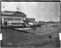 Brooklyn: Balmer's Beach and Bathing Pavilion, 1911.