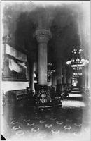 Albany, New York: lobby corridor, New York State Capitol building, undated.