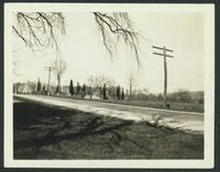 Coxsackie: Cemetery opposite Wheeler House on the state road, April 1923.