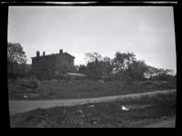 Long Island City: [General Ebenezer Stevens House, south side of Temple Street east of (Queens?) Boulevard, Astoria, 1922.]