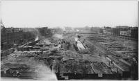 Manhattan: construction site for the Pennsylvania Station (Penn Station) on W. 31st Street, undated (ca. 1903).