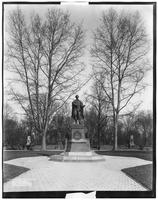 Brooklyn: statue of Abraham Lincoln, Prospect Park, 1906.