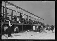 Beachgoers on Brighton Beach, Brooklyn, undated (ca. 1920).