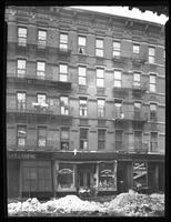 1883 Second Avenue, New York, undated (ca. 1920). E. Kramer kosher deli and lunch room visible. Snow on ground.