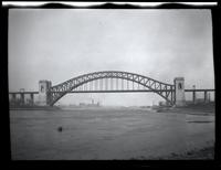 Long Island City: [Hell Gate Bridge, undated.]