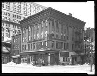 98 West Street at the northeast corner of Cedar Street and West Street, New York City, undated.