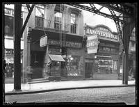 114 & 116-118 Park Row, New York City, undated (ca. 1920). Abe Cohen Cameras, Park Row Novelty Corp., and Hanover Lunch visible.
