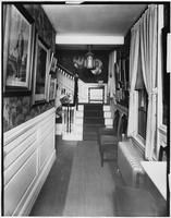 Bayshore, New York: stairway and hall with landing, Sagtikos Manor House, undated.