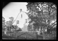 Flatlands: [Ryerson House, Church Avenue and New Lots Road, undated. Side view.]