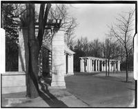 Brooklyn: pergola entrance, Prospect Park, 1906.