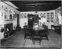 Bayshore, New York: dining room, Sagtikos Manor House, undated.