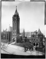 Brooklyn: St. Augustine's Roman Catholic Church, 116 Sixth Avenue at Sterling Place, Park Slope, undated.