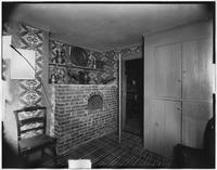 Bayshore, New York: oven in dining room, Sagtikos Manor House, undated.