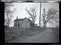 Long Island City: [J. Weber House, south side of Old Bowery Road, about 2 blocks northeast of Jackson Avenue, 1923.]