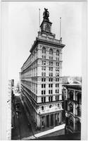 Manhattan: New York Life Insurance Company Building, 346-348 Broadway, undated (ca. 1900). View from the west, showing Leonard Street.
