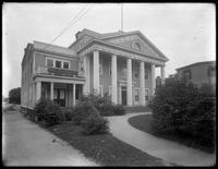 Administrative headquarters of the Queens Borough Public Library, ca. 1910.