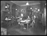 Adult main reading room, Flushing branch of Queens Borough Public Library, November 21, 1914.