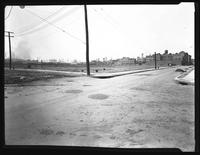 Dobbin Avenue and Norman  Avenue looking west, Hilton Estate, Long Island City, Queens, undated. Photographed for Joseph P. Day.