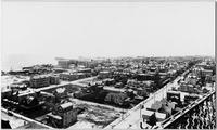 Atlantic City, New Jersey: high-angle view of city, undated.